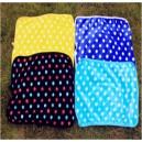 Одеяло меховое яркое в горошек, для собаки или кошки