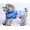 Рубашка ажурная с бантиками для собак или кошек