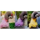 """Платье """"Baby"""" нарядное с бантиками и гипюром, для собак и кошек"""